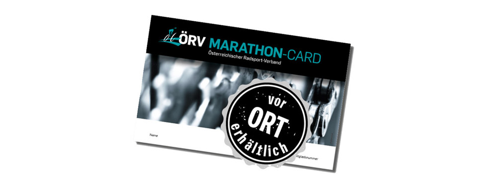 ÖRV Marathon Card at a special price!